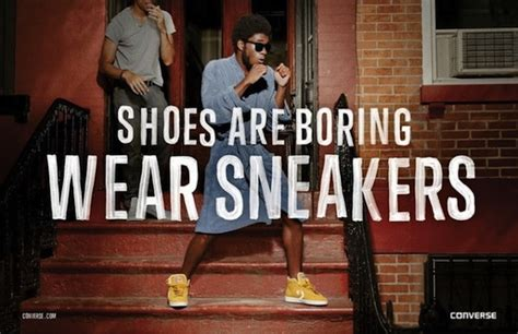 Converse Ad Shows That People Who Wear Sneakers Have More