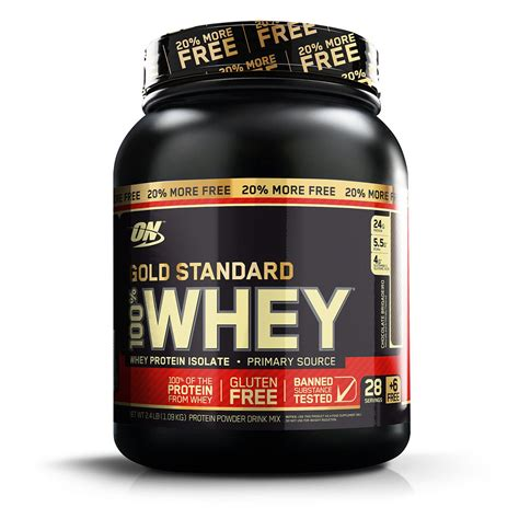 Whey Protein 100% Whey Gold Standard 20% More FREE 1