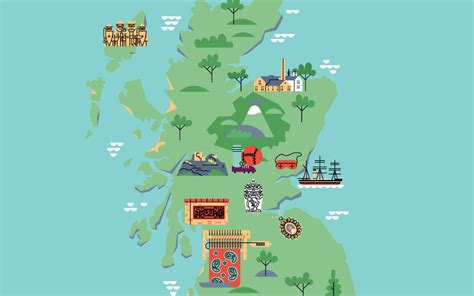 Explore the history of Scotland with this interactive map