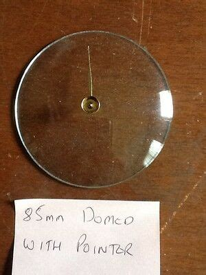 Barometer replacement glass - 85mm Domed with pointer   eBay