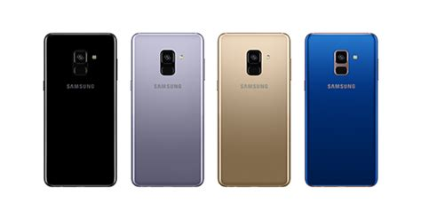 Specifications | Samsung Galaxy A8 and A8+ - The Official
