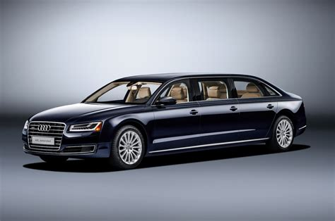 Audi A8 L Extended is a One-Off Limo From Ingolstadt