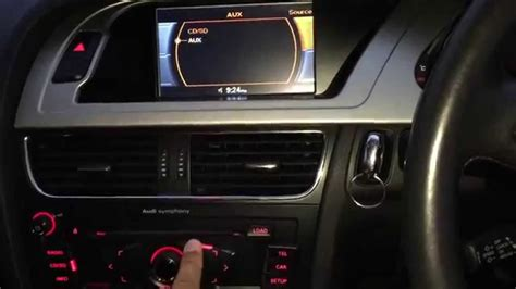 Audi A4 b8 activate aux , dvd - YouTube