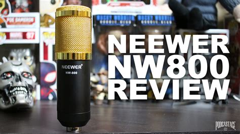 Neewer NW-800 Condenser Microphone Review / Test - YouTube