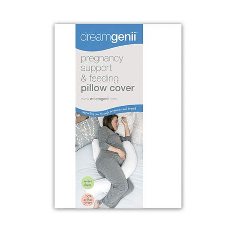 Dreamgenii Pregnancy Pillow Cover - White | Olivers BabyCare