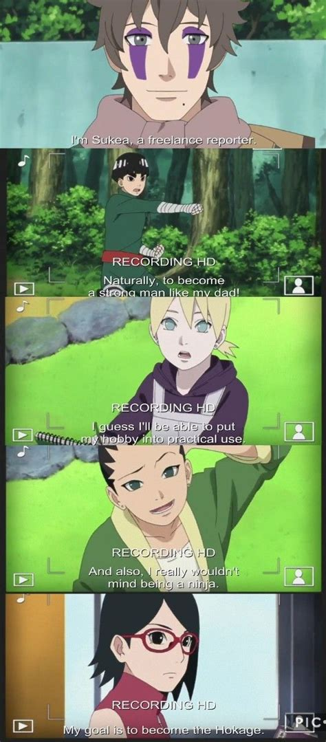 New Generation's goals for after the Academy ️ Boruto Ep