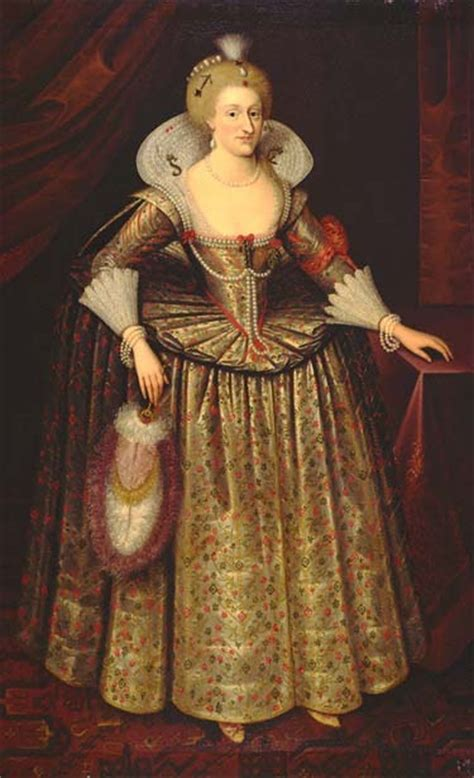 Queen Anne of Denmark by ? probably after de Critz