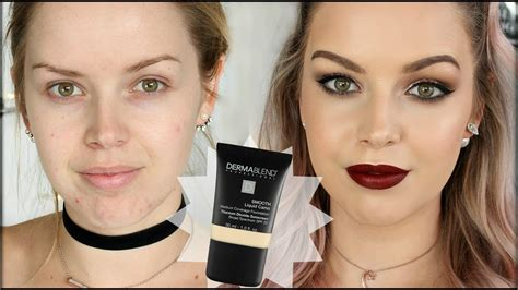 DERMABLEND FOUNDATION   FIRST IMPRESSIONS & REVIEW