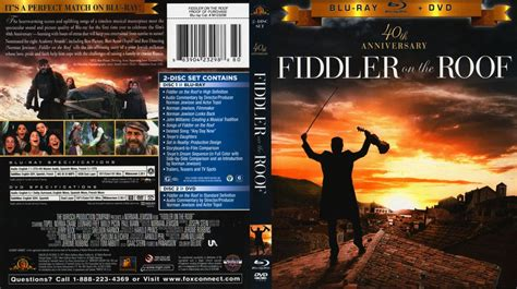 Fiddler on the Roof BD Cover - Movie Blu-Ray Scanned